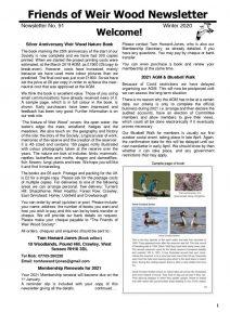 thumbnail of Newsletter 91 – Winter 2020